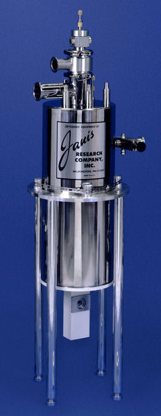 SVT-200-5 large optical SuperVariTemp reservoir cryostat
